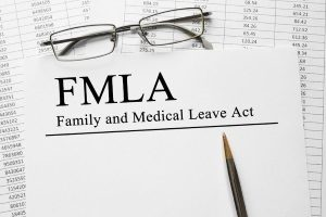 required paperwork that must be filled out for the Family and Medical Leave Act which was updated in 2018