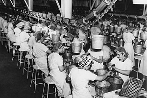 factory workers working too hard before fair labor standards act